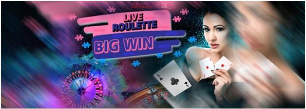 Live roulette a Irish Casinos