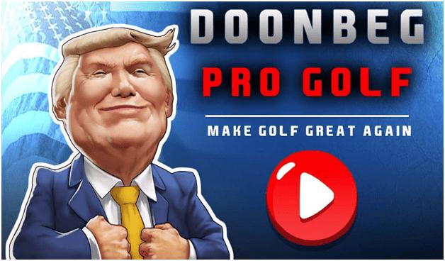 Doonbeg pro golf arcade game