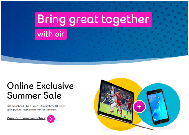 Eir Telecom Broadband deals