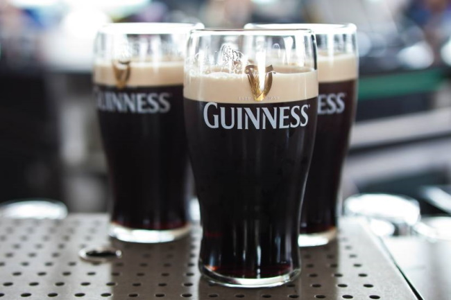 Guinness Storehouse and its gravity bar