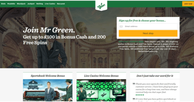 Mr Green Online casino for Irish punters