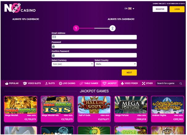 How to get started at No Bonus Casino
