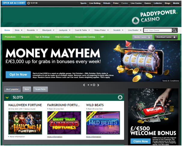 Casino bonus paddy power withdrawal online poker tables free