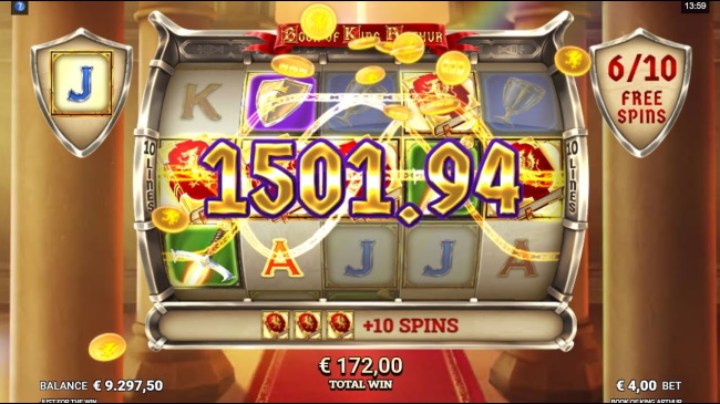 Score mega wins with royal free spins