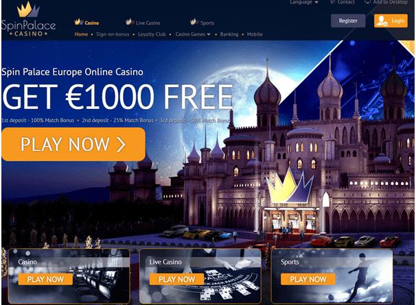 spin palace casino legitimate