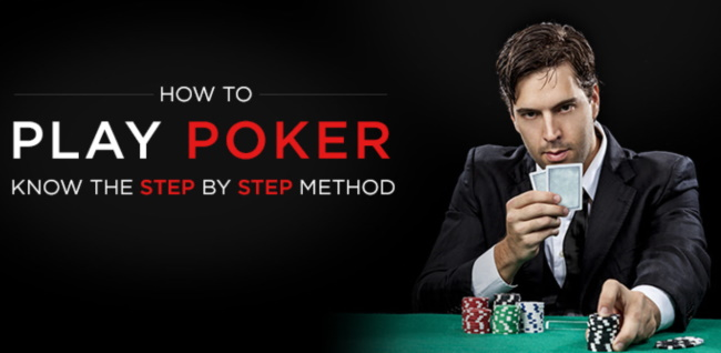 Step-by-step guide on how to Play Poker