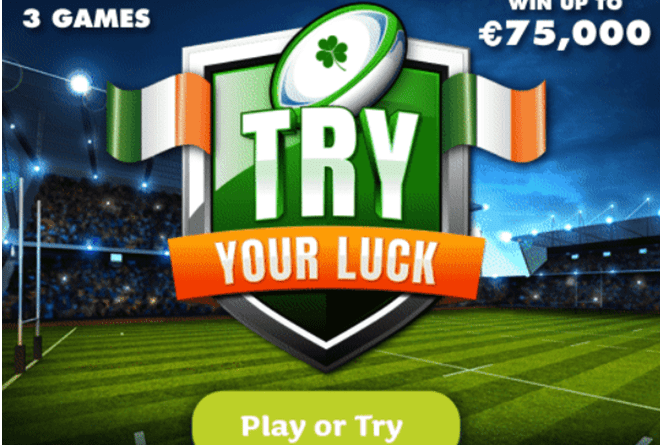 How to play Try Your Luck- The Instant Lottery in Ireland?