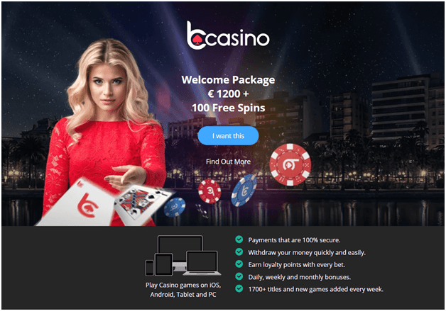 bCasino online for Irish players