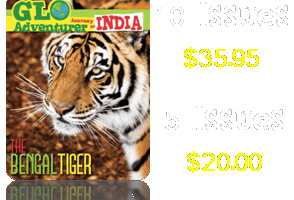 Free Issue of Glo Adventurer Journey to India Magazine for Kids