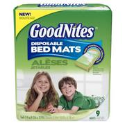 Free Samples of Goodnites Bed Mats