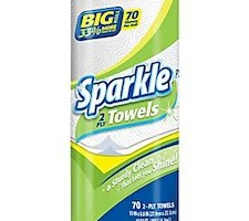 Sparkle Paper Towels for $0.67 at Staples