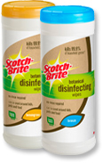 Free Samples of Scotch-Brite Botanical Disinfecting Wipes