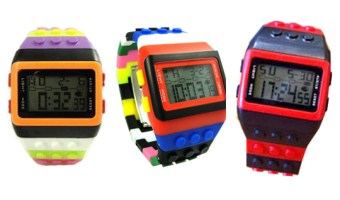 Lego Inspired Watches for just $9