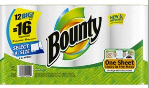 Bounty paper Towels Coupons