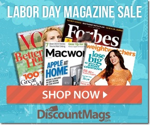 Labor Day Magazine Sale