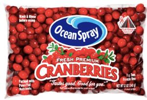 Ocean Spray Cranberries Printable Coupon