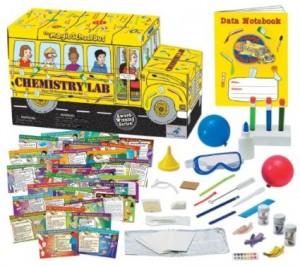 The Magic School Bus Chemistry set