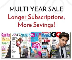 Multi-year-magazine-sale