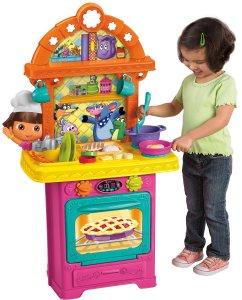 Dora the Explorer Sizzling Surprises Kitchen