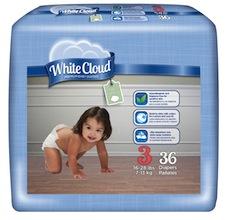 White Cloud Diaper Coupon