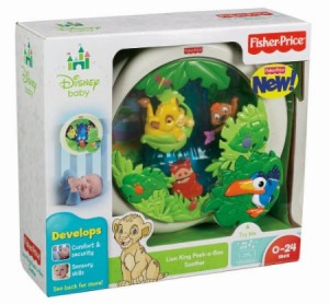 Fisher Price Baby Lion King Soother