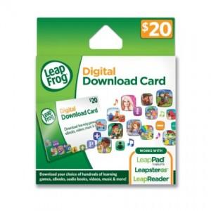 Leapfrog Digital Download Card