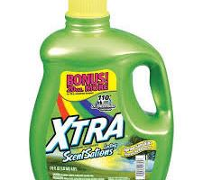 Xtra Liquid Laundry Detergent for $1.00 at Walgreens and Rite Aid