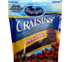 Ocean Spray Craisins for $0.94 at Walmart