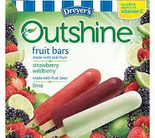 Outshine Fruit Bars for $1.99 at Target
