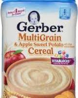 Gerber Multigrain Baby Cereal for $1.68 at Walmart