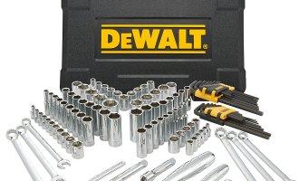 Today ONLY: 25% off DEWALT 118 Piece Mechanics Tool Set
