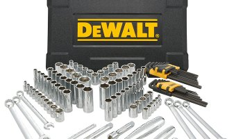 Today ONLY: 25% off DEWALT 118 Piece Mechanics Tool Set