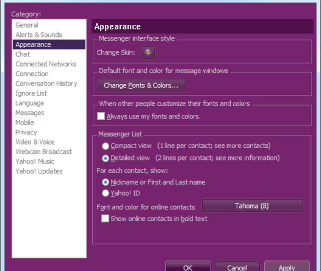 Yahoo Messenger Latest Version Free Download