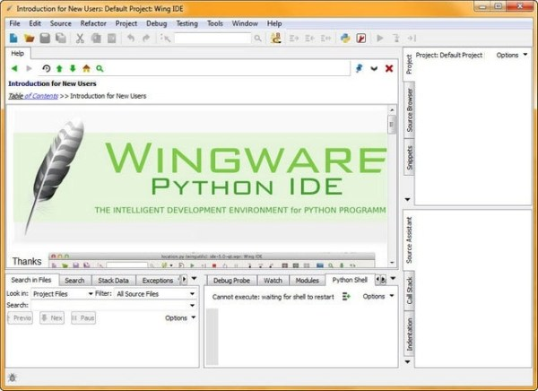 free download full version Wing IDE Pro 7.2