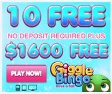 Giggle Bingo Casino free spins