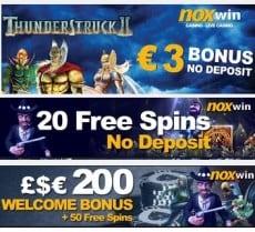 Noxwin free bonus