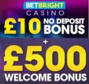 BetBright Casino free spins