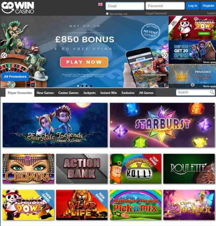 GoWin Casino Review: Free Spins & Bonus