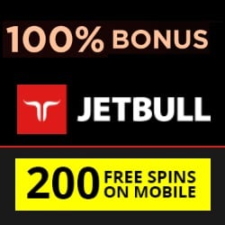 Jetbull Casino Review: 200 free spins & 100% free bonus