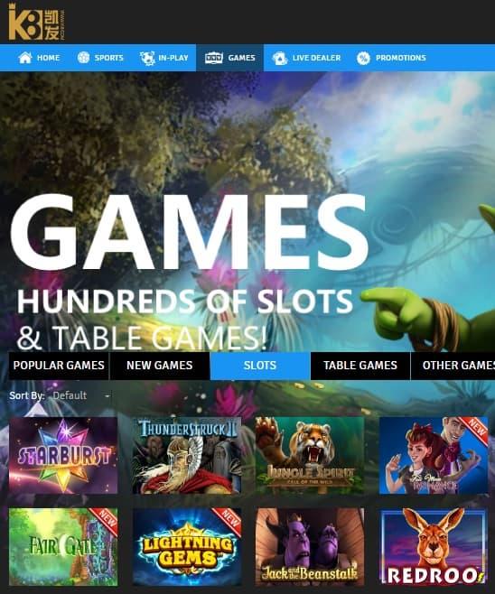 K8 Casino online & mobile - free bonus