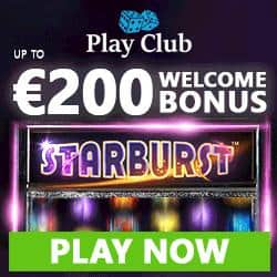 Play Club Casino €200 & 100 free spins - no deposit bonus codes!