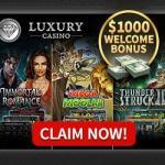 Luxury Casino [review] 25 free spins + 325% up to €/$1000 free bonus