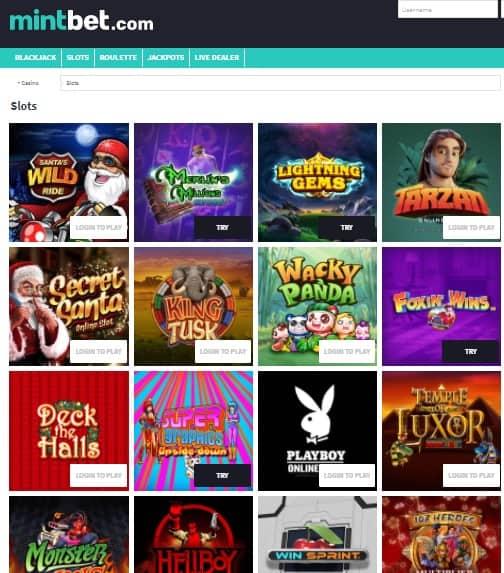 Mintbet Casino Online