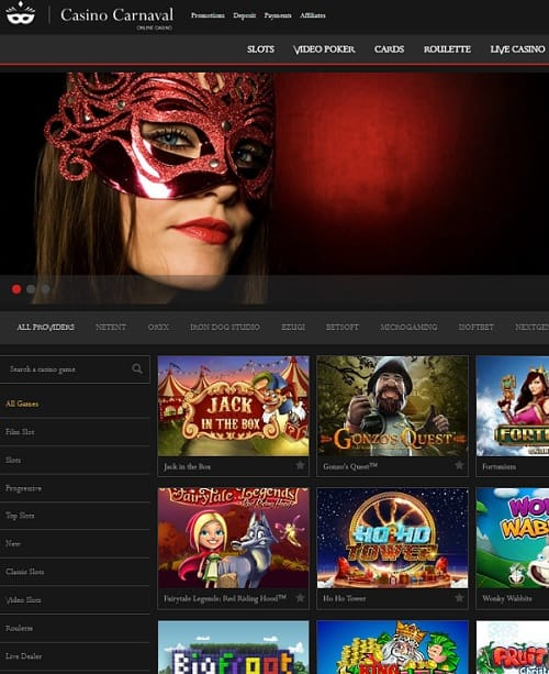 Carnaval Casino Review