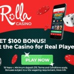 Rolla Casino 100% up to €500 deposit bonus & 500 free spins