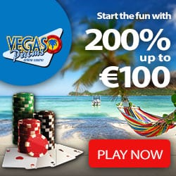 Vegas Palms Casino €100 free bonus and 100 free spins to play