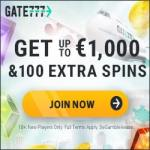 Gate 777 Casino [Gate777.com] 100 gratis spins + €1000 bonus money