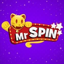 Mr Spin Mobile Casino - 50 no deposit free spins bonus for UK