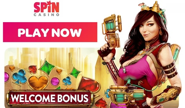 Spin Casino play now and win bonus