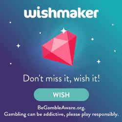 Wishmaker Casino [register & login] 50 gratis spins + €200 free bonus